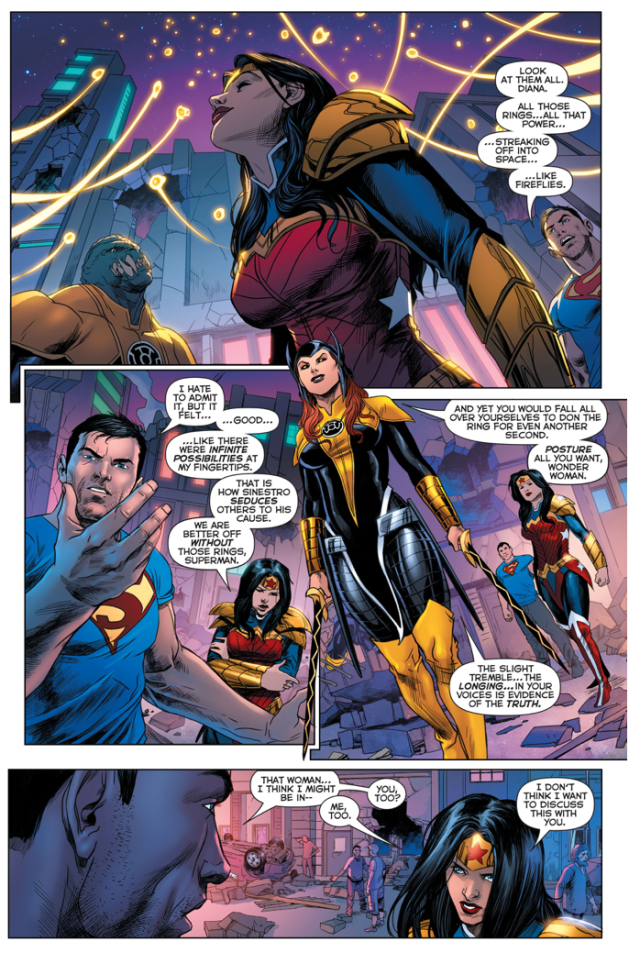 Superman And Wonder Woman Affected By Bekka's Power