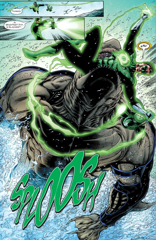 The Shark Takes Out Green Lantern