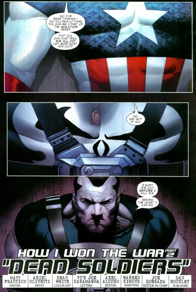 captain america recruits the punisher (civil war)