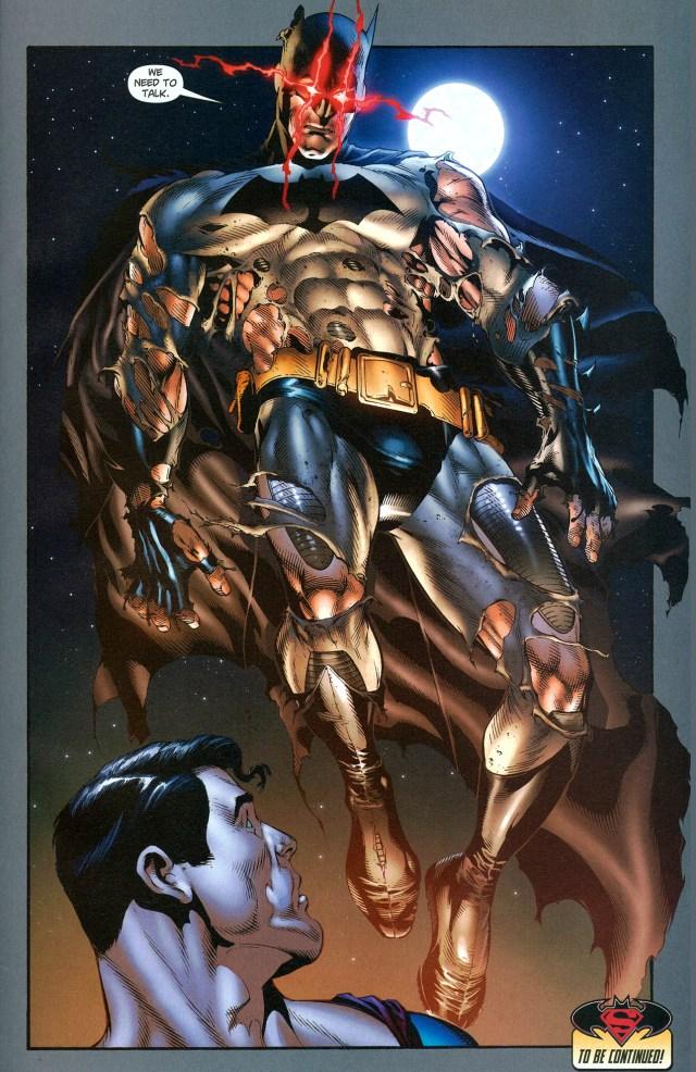 how batman discovered he has superman's powers