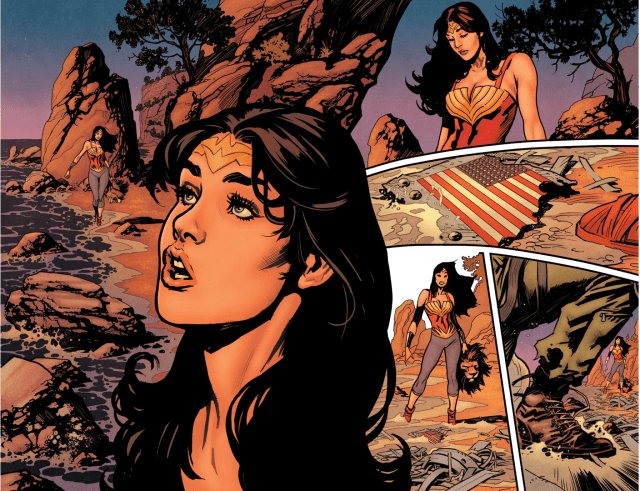 Wonder Woman Meets Steve Trevor (Earth 1)