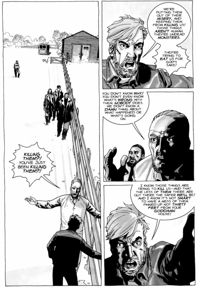 Hershel Greene Believes Walkers Can Be Cured (The Walking Dead)