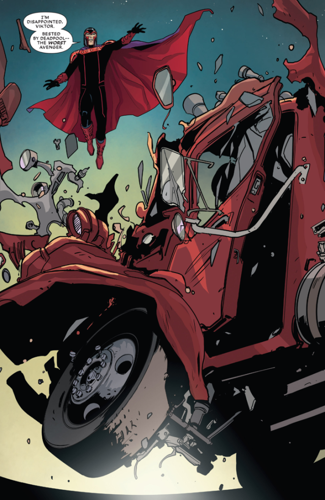 How Sabretooth Saved Deadpool From Magneto