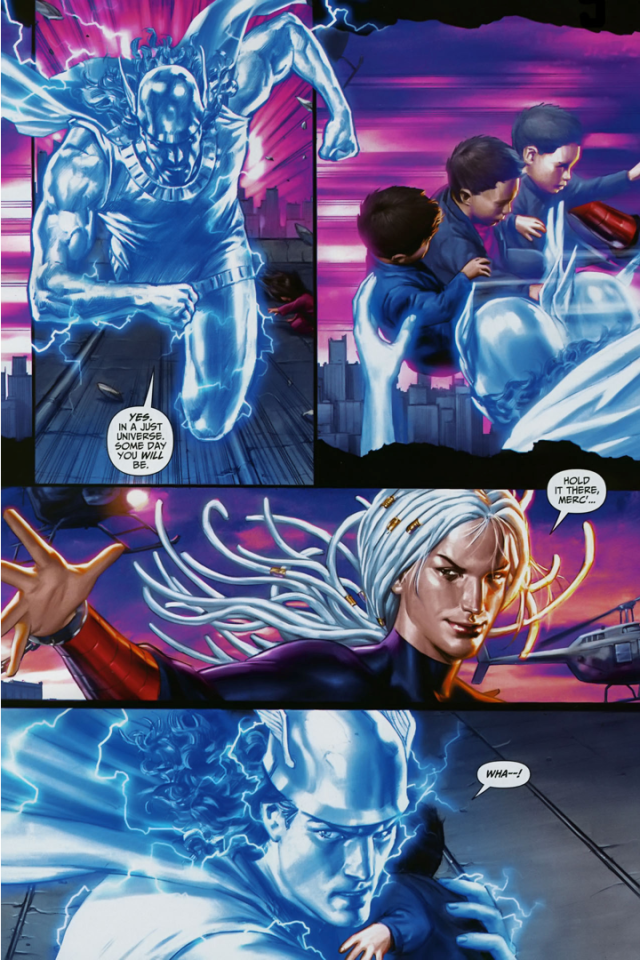 Sabina De La Croix Steals Mercury's Power (Trials Of Shazam)
