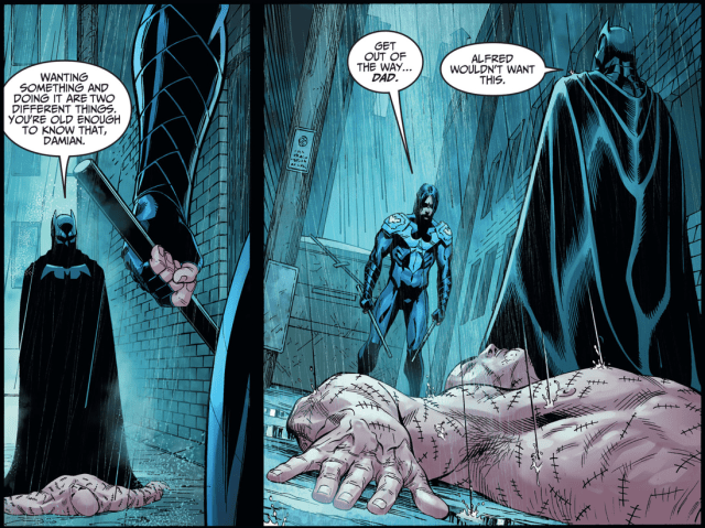 Batman VS Nightwing Damian Wayne (Injustice Gods Among Us)