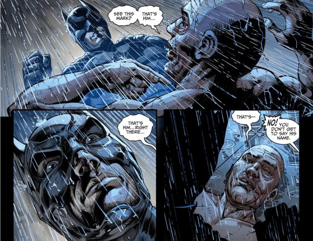 Batman's Vicious Beating To Victor Zsasz (Injustice Gods Among Us)
