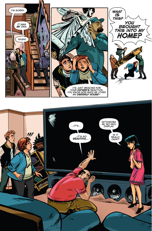 Veronica's Improvements To Archie's House