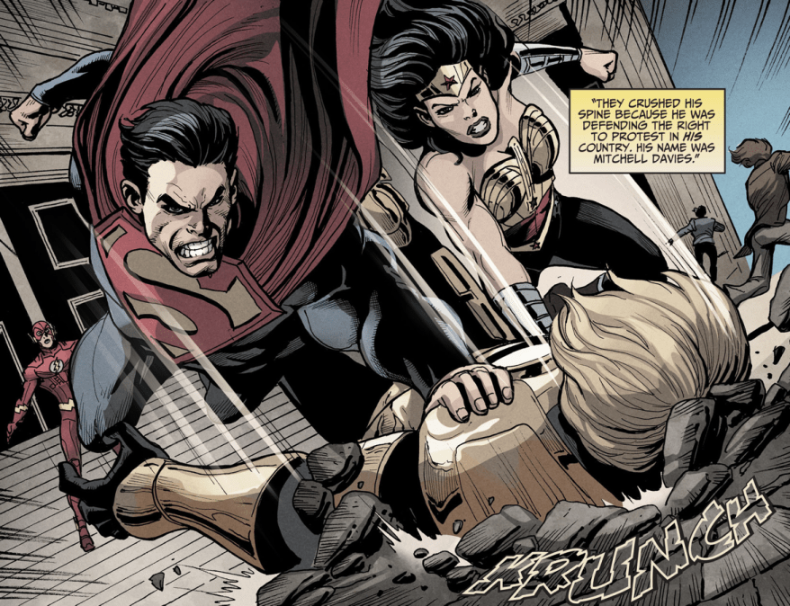 Why Iris West Broke Up With The Flash (Injustice Gods Among Us)