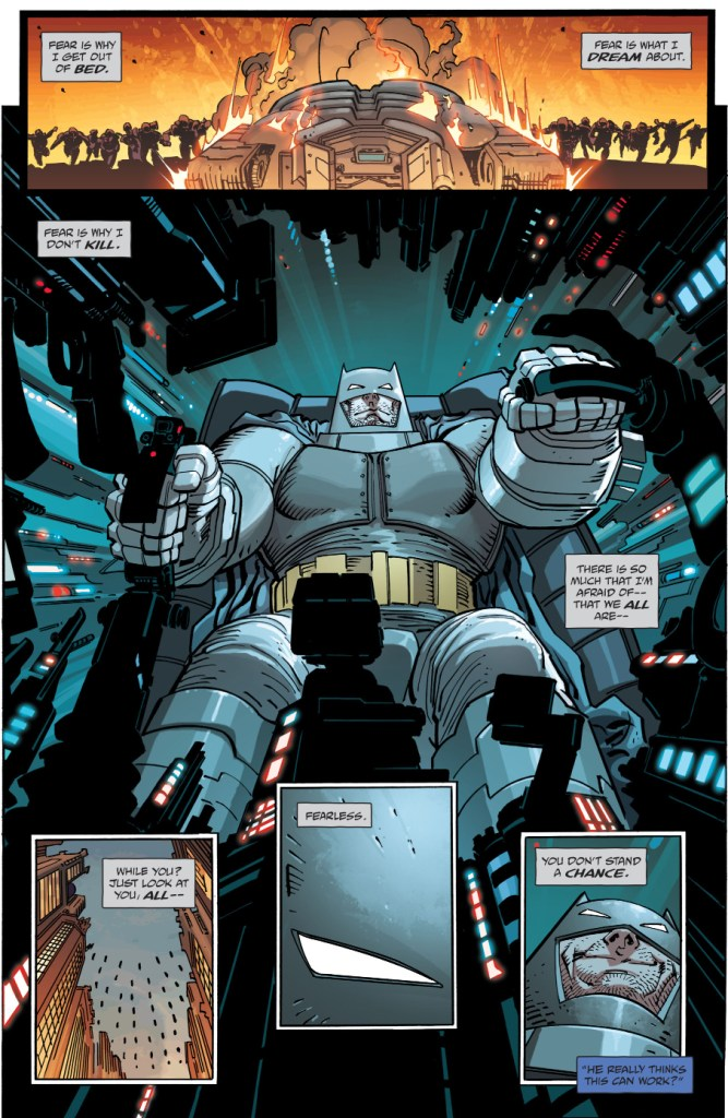 Batman Talks About Fear (The Master Race)