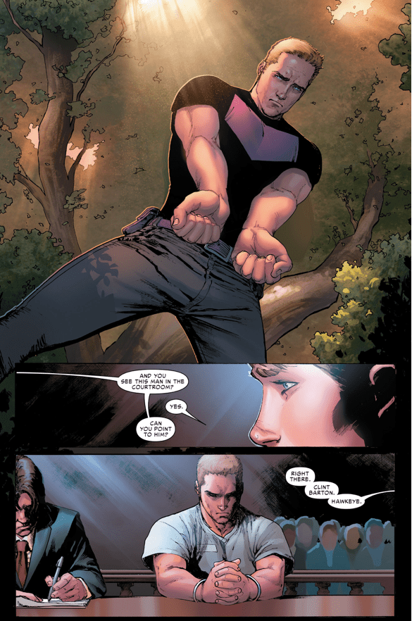 Hawkeye Kills Bruce Banner (Civil War II)