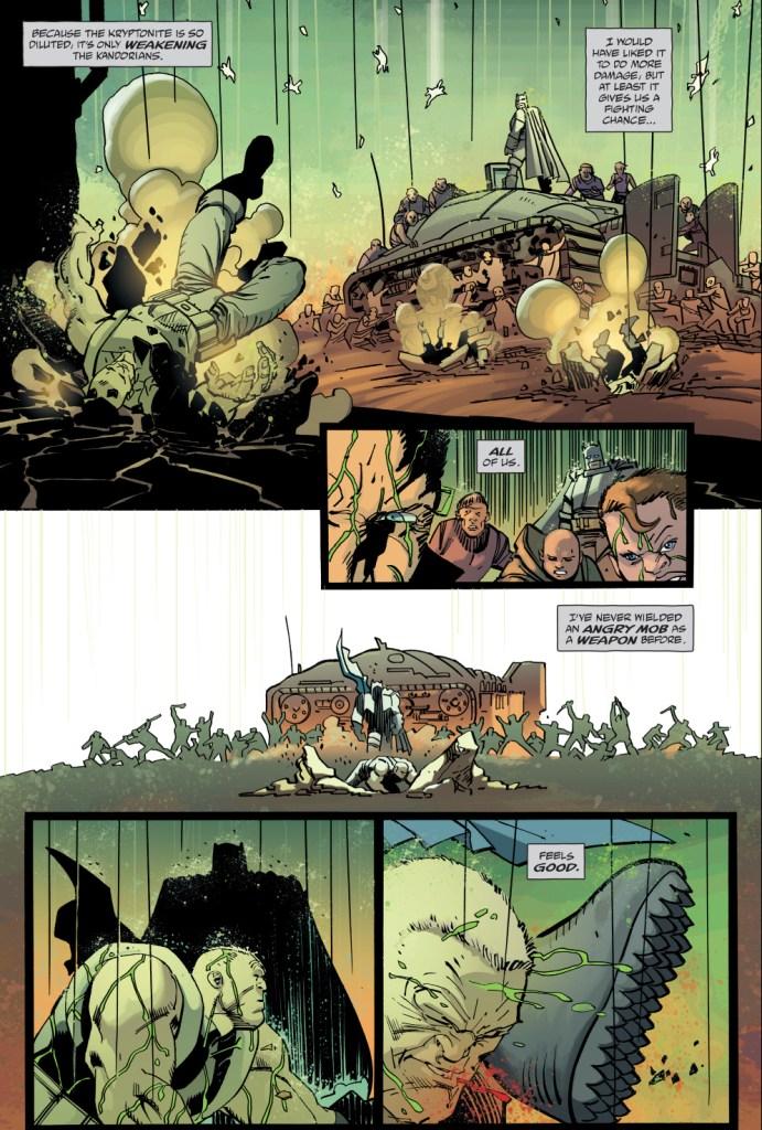 how batman took down the kandorians (the master race)