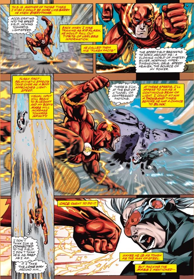 The Flash VS Züm