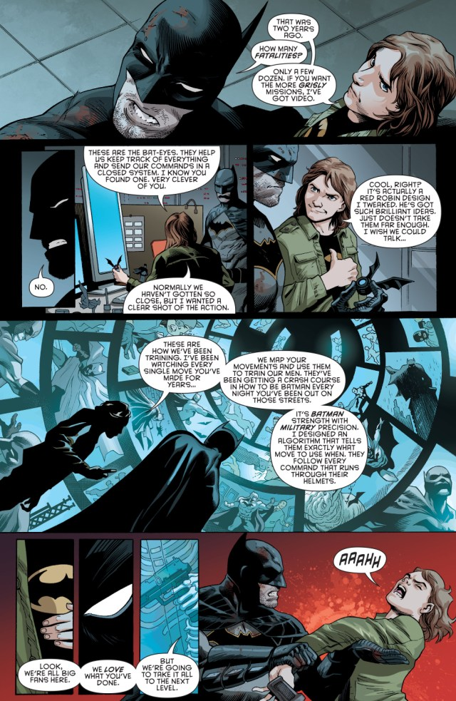 batman meets ulysses armstrong (rebirth)
