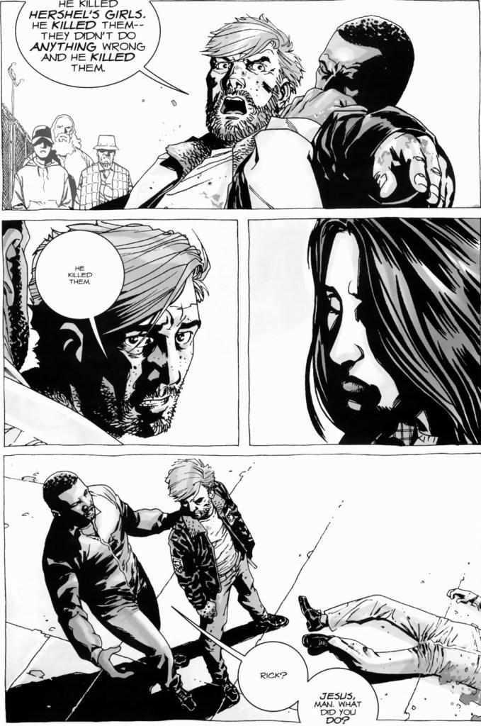 Who Killed Hershel Greene's Twin Daughters (The Walking Dead)