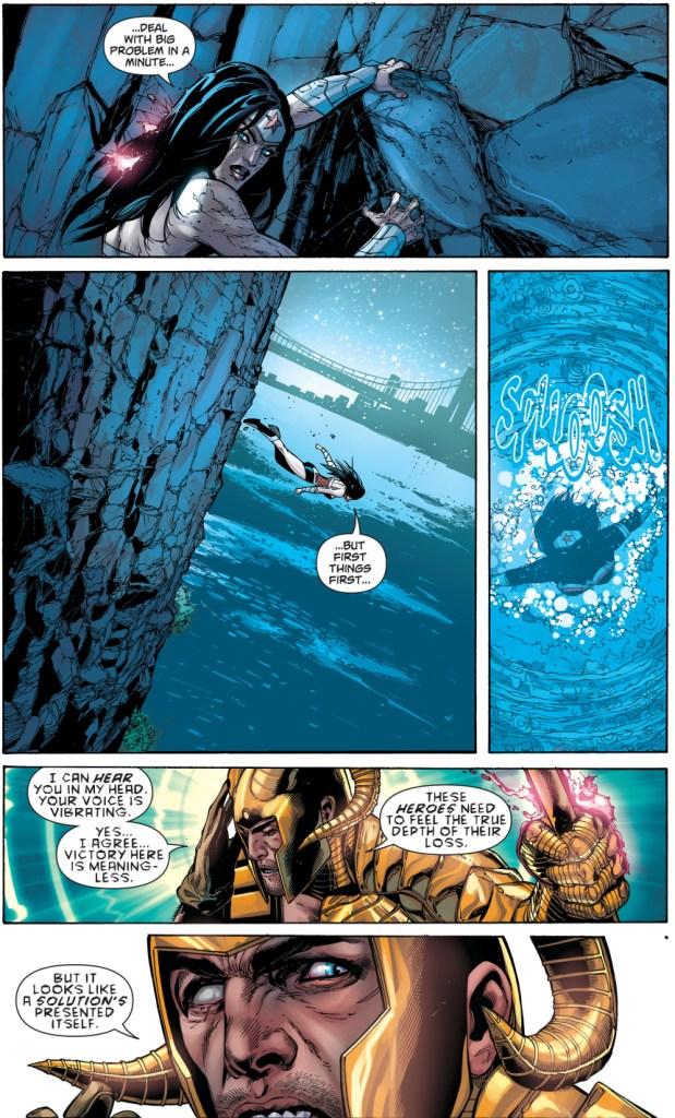 Wonder Woman VS Magog (New 52)