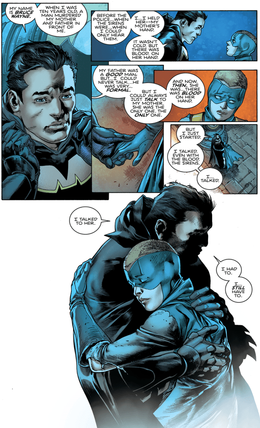 How Batman Helped Gotham Girl Cope With Loss