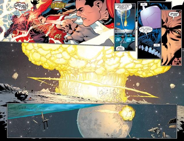 clark kent, dc comics, jonathan samuel kent, krypton, rebirth, superman, the eradicator