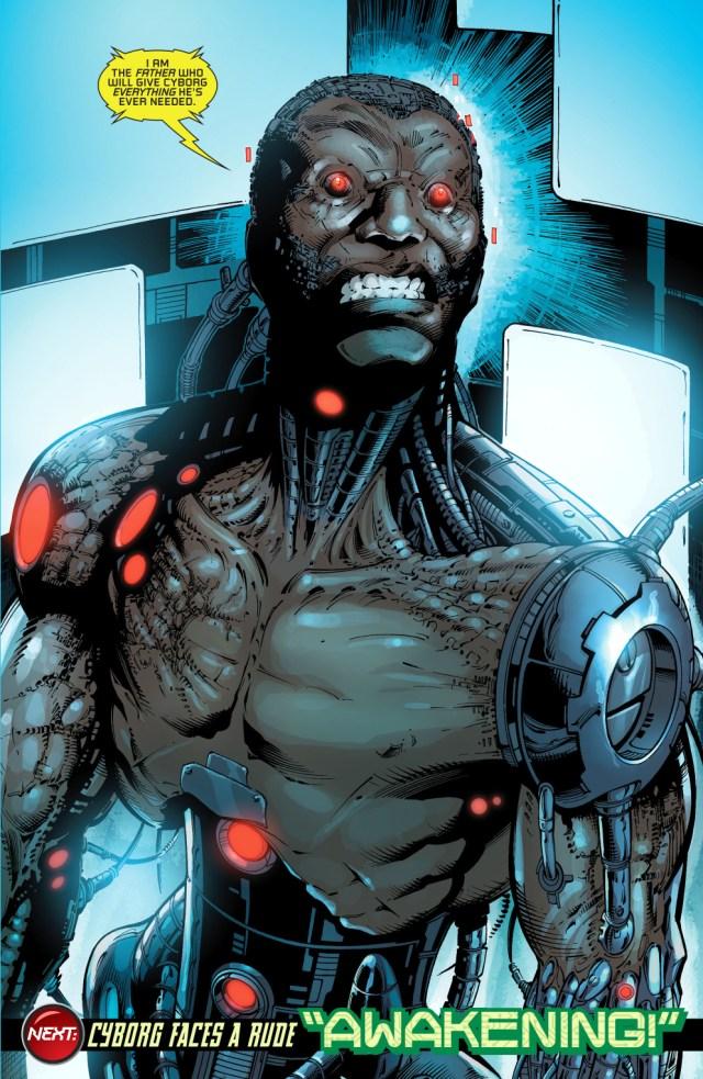 Cyborg's New Enemy