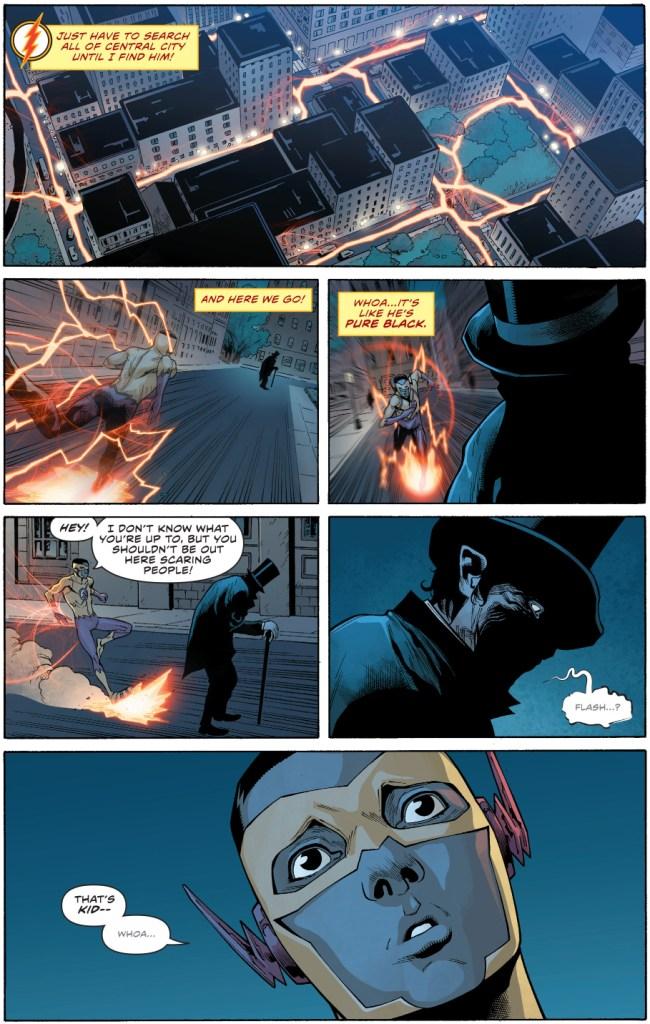Kid Flash Meets The Shade (Rebirth)
