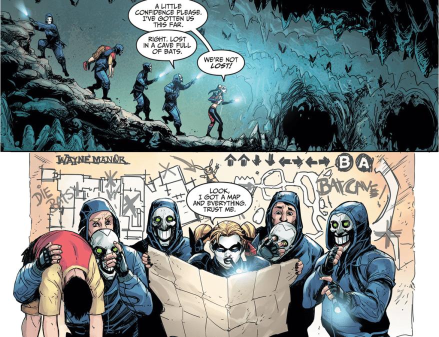 Harley Quinn And The Konami Code