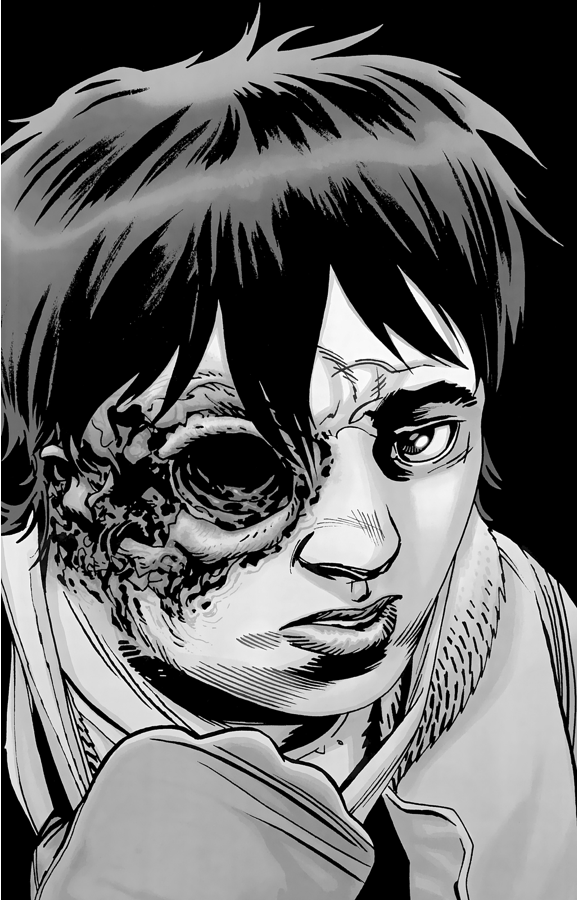 Negan's Punishment To Carl Grimes (The Walking Dead)