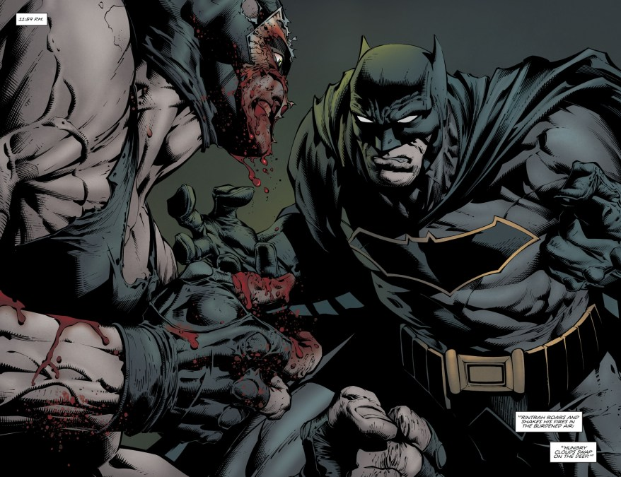 Batman And Bane (Rebirth)