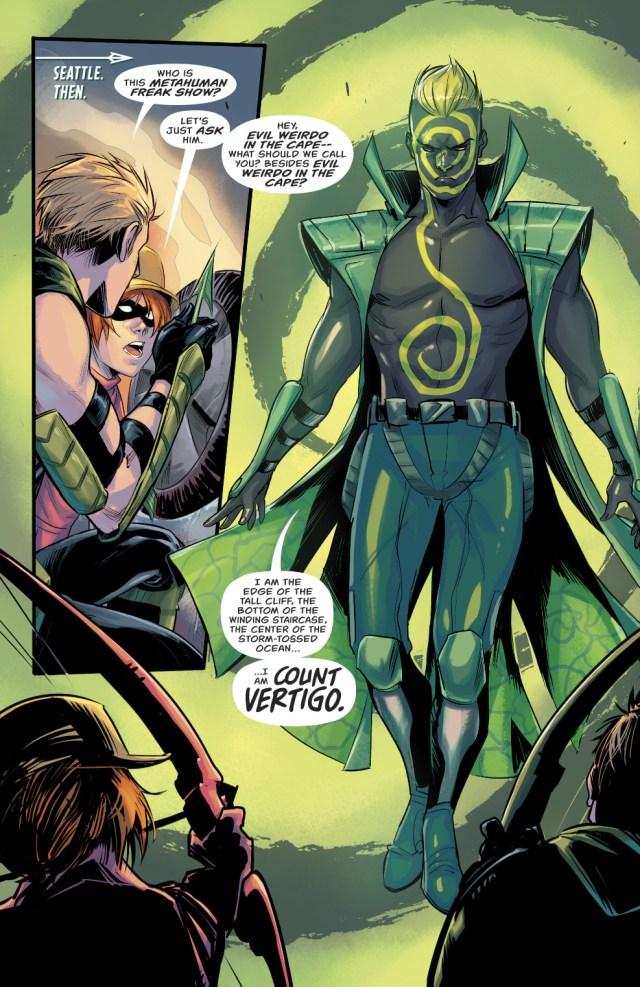 Count Vertigo (Green Arrow Vol. 6 #19)