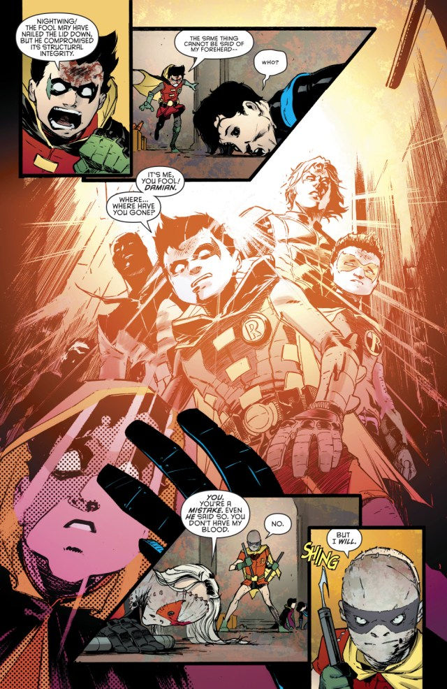 Damian Wayne's Biggest Fear
