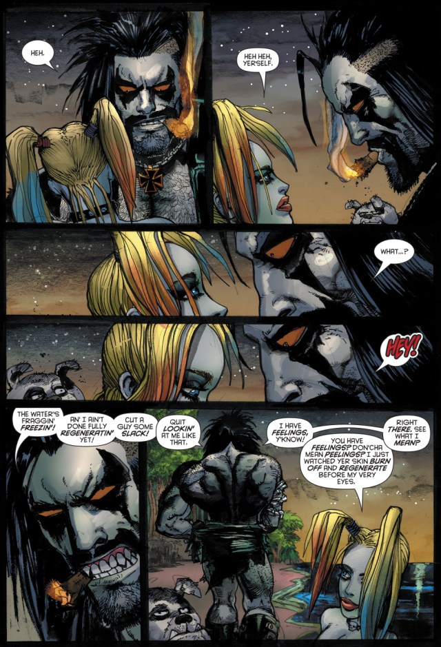 Harley Quinn Topless With Lobo