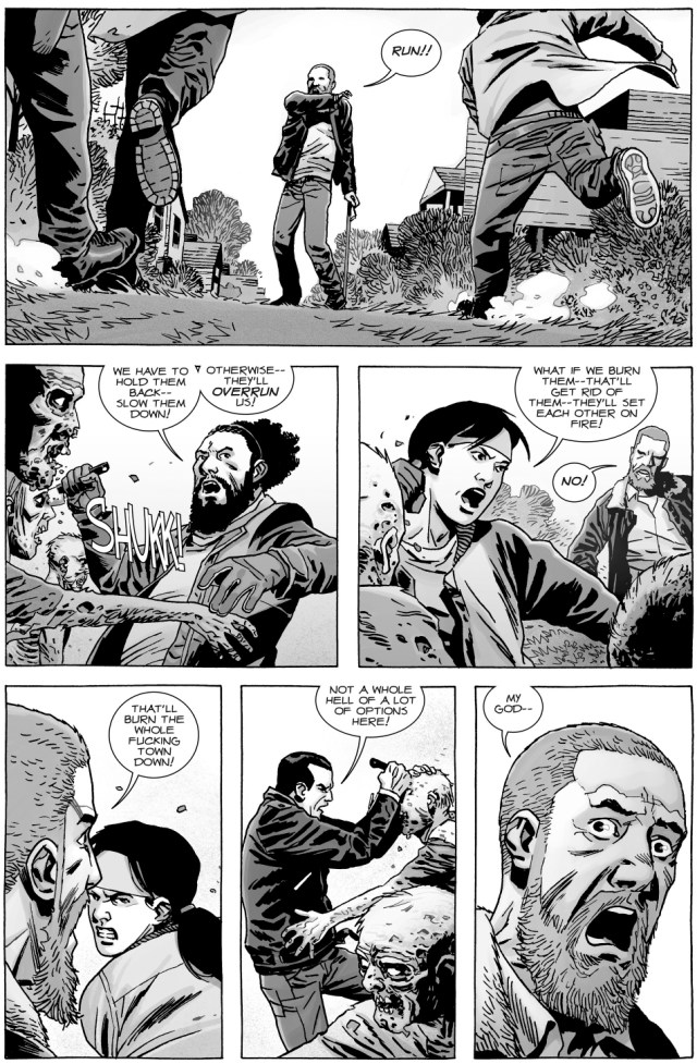 Negan Saves Rick Grimes (The Walking Dead)