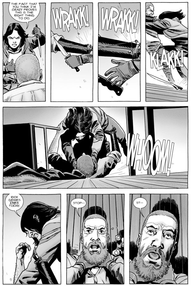 Rick Grimes Kills Sherry (The Walking Dead)