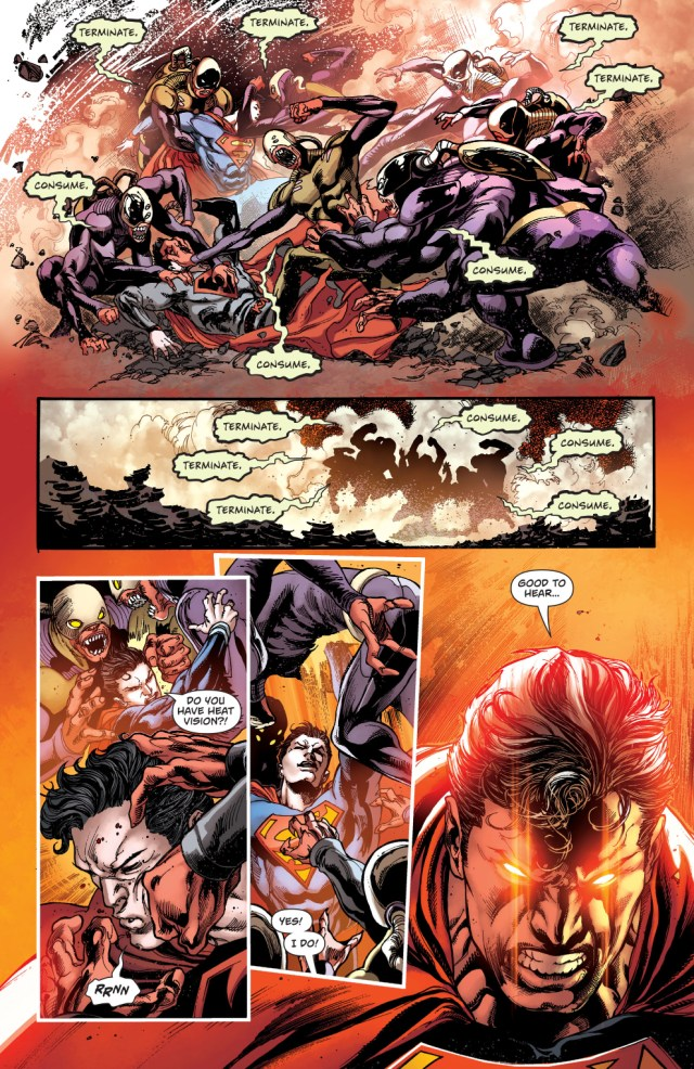 Superman And Red Son Superman VS The Gatherers
