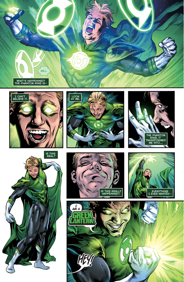 Frank Laminski Becomes The Phantom Lantern