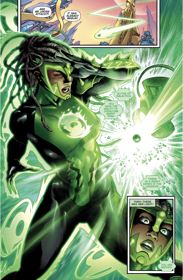How Alitha Became The First Green Lantern