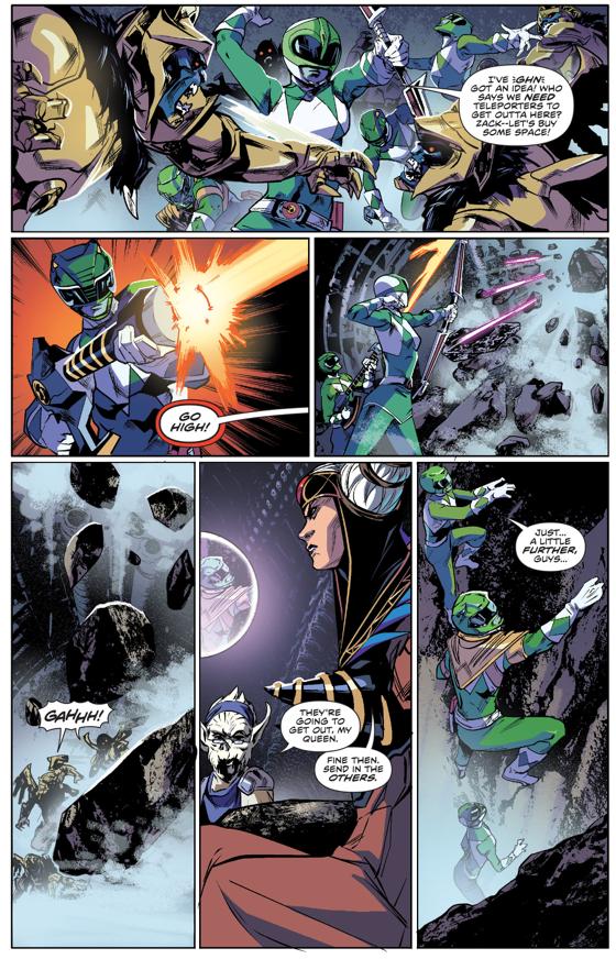Power Rangers VS An Army Of Goldars