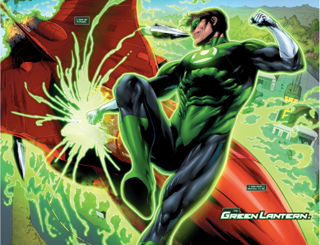 Why Frank Laminski Wanted To Be A Green Lantern