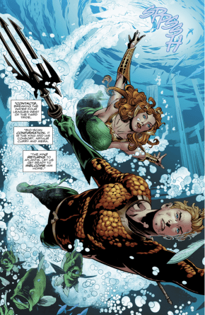 Aquaman And Mera (Aquaman Vol. 8 #24)