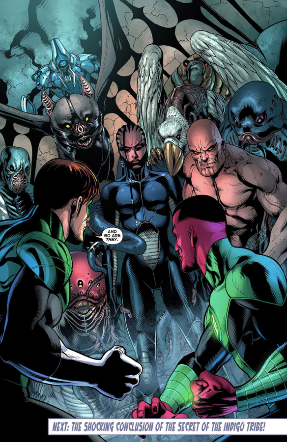 The Indigo Tribe Without Their Rings