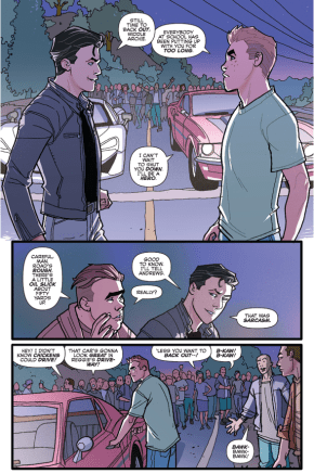 Archie Andrews And Reggie Mantle Go Drag Racing