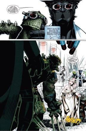 Emma Frost VS Lizard X-Men