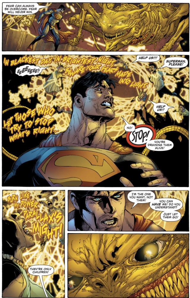 Parallax Possesses Superman