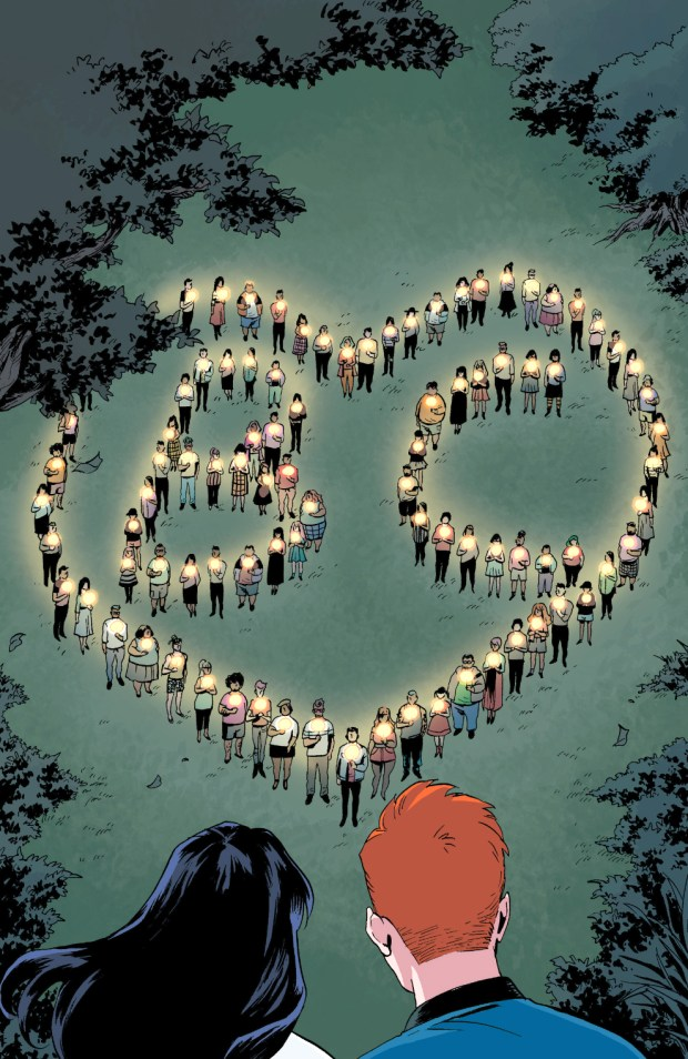 Riverdale Holds A Vigil For Betty Cooper