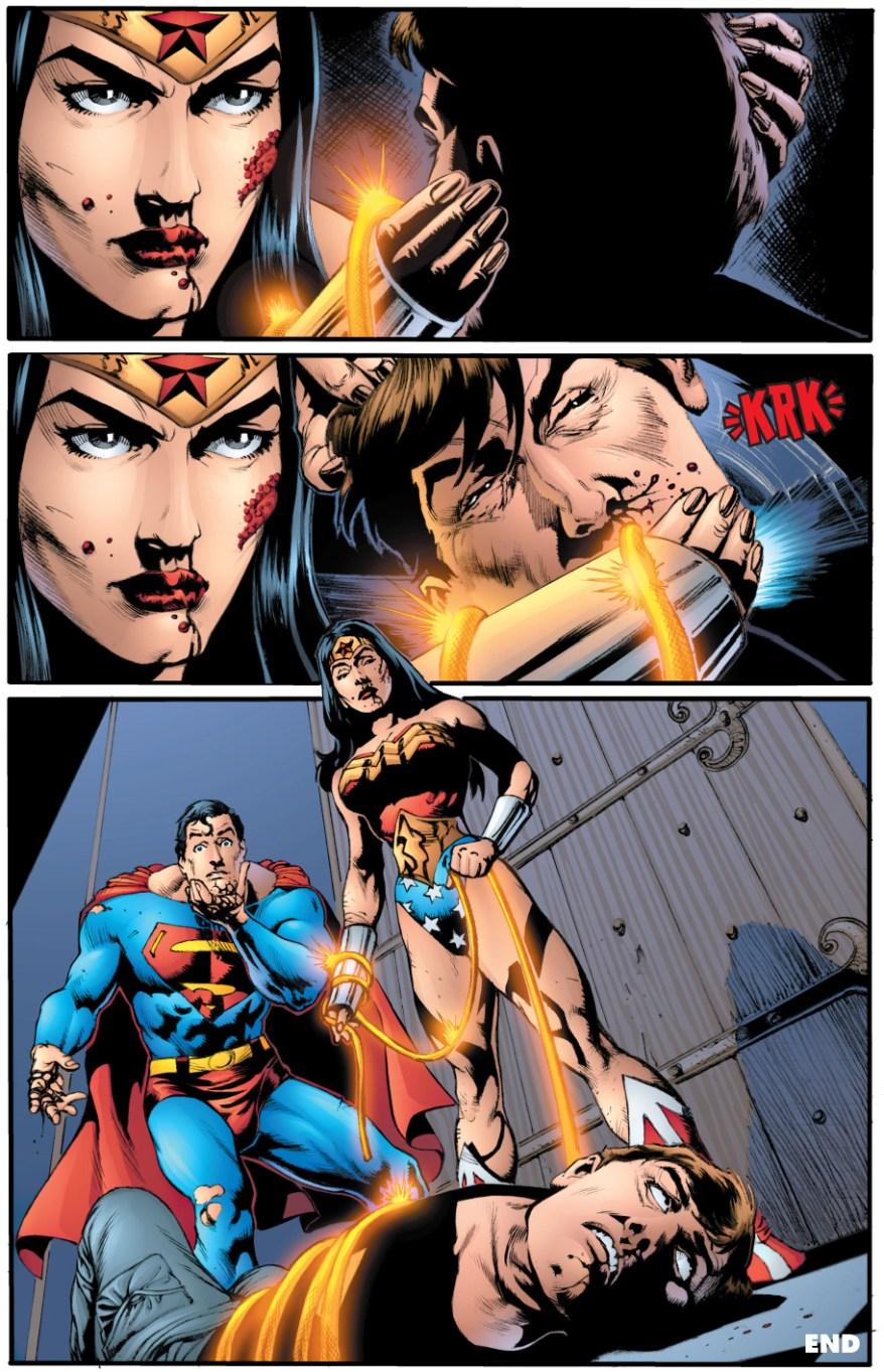 Wonder Woman Kills Maxwell Lord