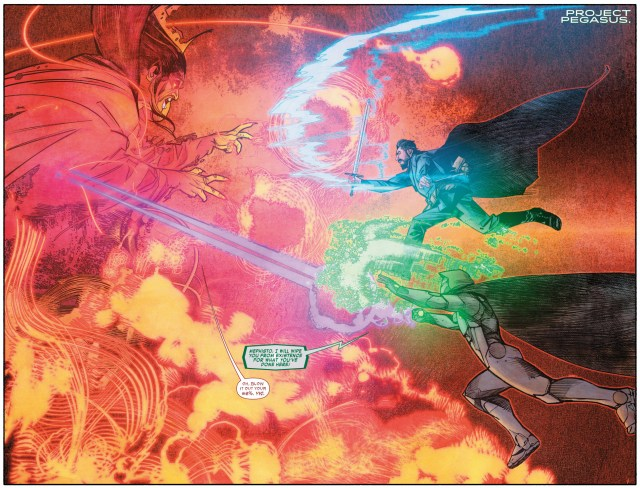 Infamous Iron Man And Doctor Strange VS Mephisto
