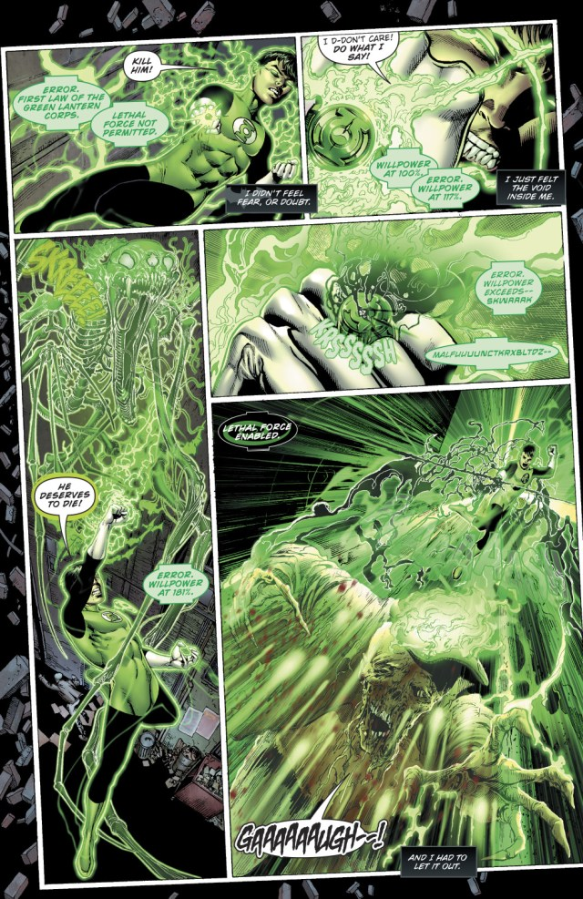 Bruce Wayne Becomes A Green Lantern (Earth - 32)