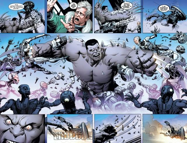 Hulkverine Destroys Reverend Stryker