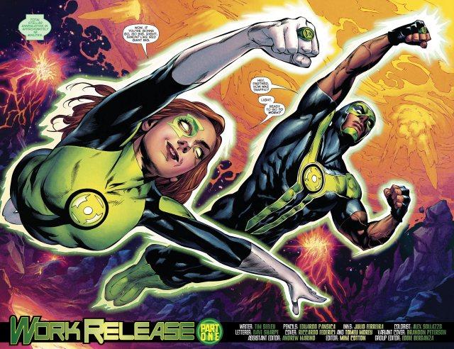 Jessica Cruz And Simon Baz (Green Lanterns Vol. 1 #33)