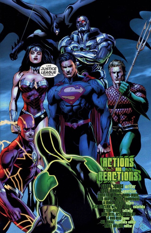 Justice League (Green Lantern Vol 5 #13)
