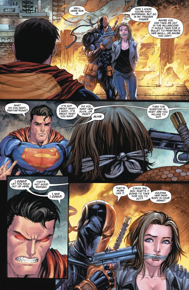 Why Deathstroke Wants Superman To Kill Him