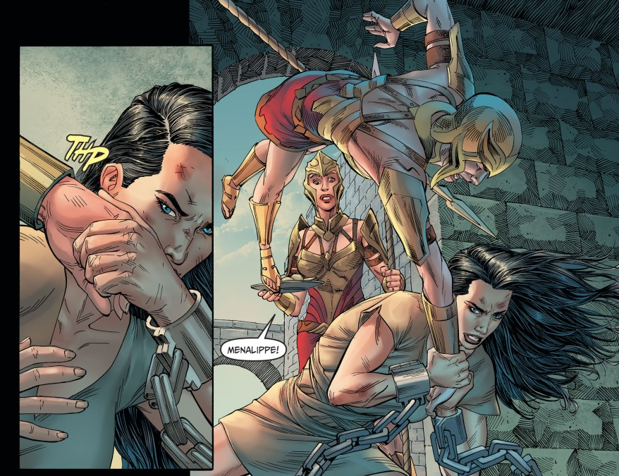 Wonder Woman Imprisoned By The Amazons (Injustice II)